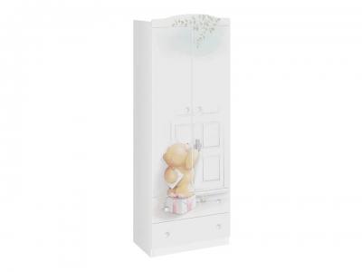 Шкаф комбинированный Тедди ТД-294.07.22 Белый с рисунком