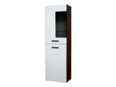 Шкаф напольный со стеклом модуль-3 Грация левый