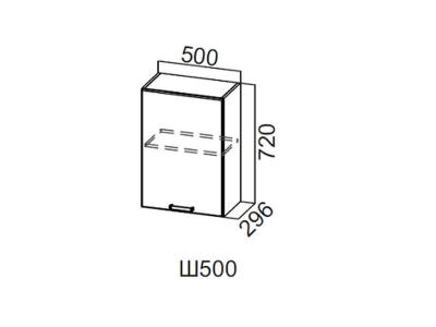 Шкаф навесной 500/720 Ш500/720 Лофт