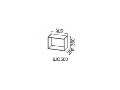 Шкаф навесной открытый 500/360 ШО500/360 Лофт