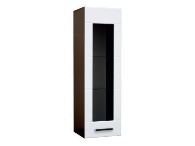 Шкаф навесной со стеклом модуль-1 Грация левый
