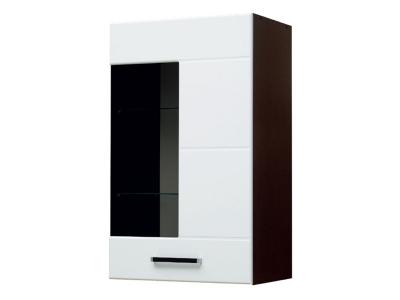 Шкаф навесной со стеклом модуль-2 Грация правый