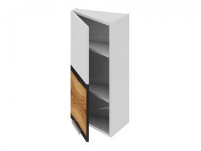 Шкаф навесной торцевой левый ВТ_72-40(45)_1ДР(А) Фэнтези Вуд