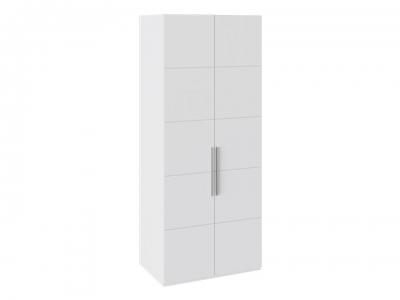 Шкаф с 2 дверями Наоми СМ-208.07.03 Белый глянец