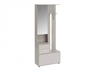 Шкаф-секция комбинированная Витра тип 1 Ясень шимо, Бежевый глянец