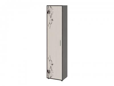 Шкаф Витра тип 1 Венге Цаво, Дуб Белфорт с рисунком