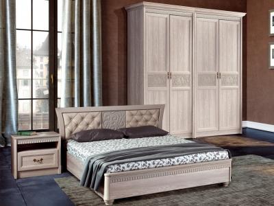 Спальня Лючия дуб оксфорд серый