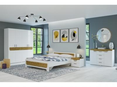 Спальня Милана Белый - Сосна Гранд