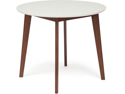 Стол обеденный Bosco D900 Белый + Коричневый