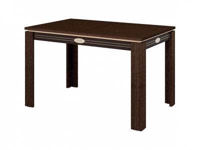 Стол обеденный Орфей-14.13 Венге - Танзай 1200(1700)х800х750