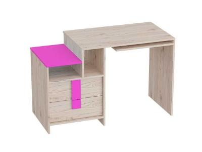 Стол письменный Скаут 1200х550х750 Матовый фуксия