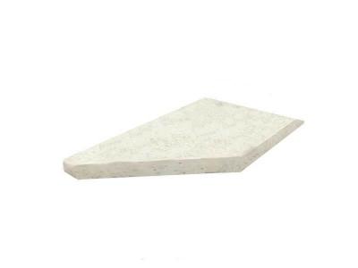 Столешница для кухонных столов торцевая правая 38 мм