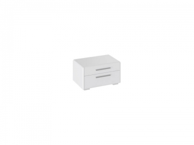 Тумба прикроватная Наоми ТД-208.03.01 Белый глянец