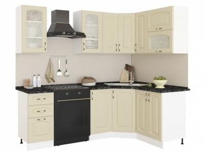 Угловая кухня Равенна Фаби 1,65х1,45 ваниль