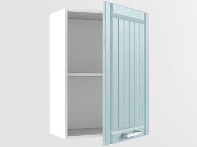 Верхний шкаф В 500 1 дверь 720х500х300 Прованс Роялвуд голубой