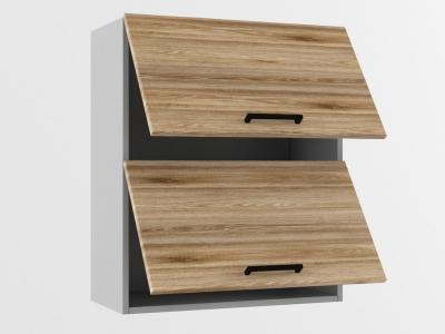 Верхний шкаф В 600 2 софт 720х600х300 Лофт